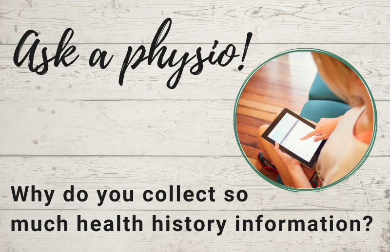 Auckland Physiotherapy Blog Collecting Health History