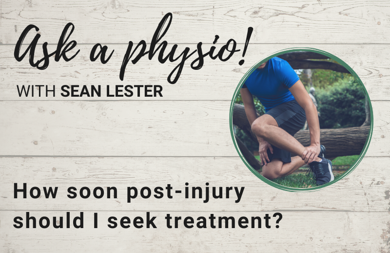 Auckland Physiotherapy Blog How Soon Should I see a Physio