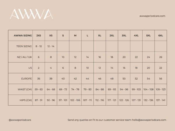 NEW Size Guide JPG for retailers (sep 2021)